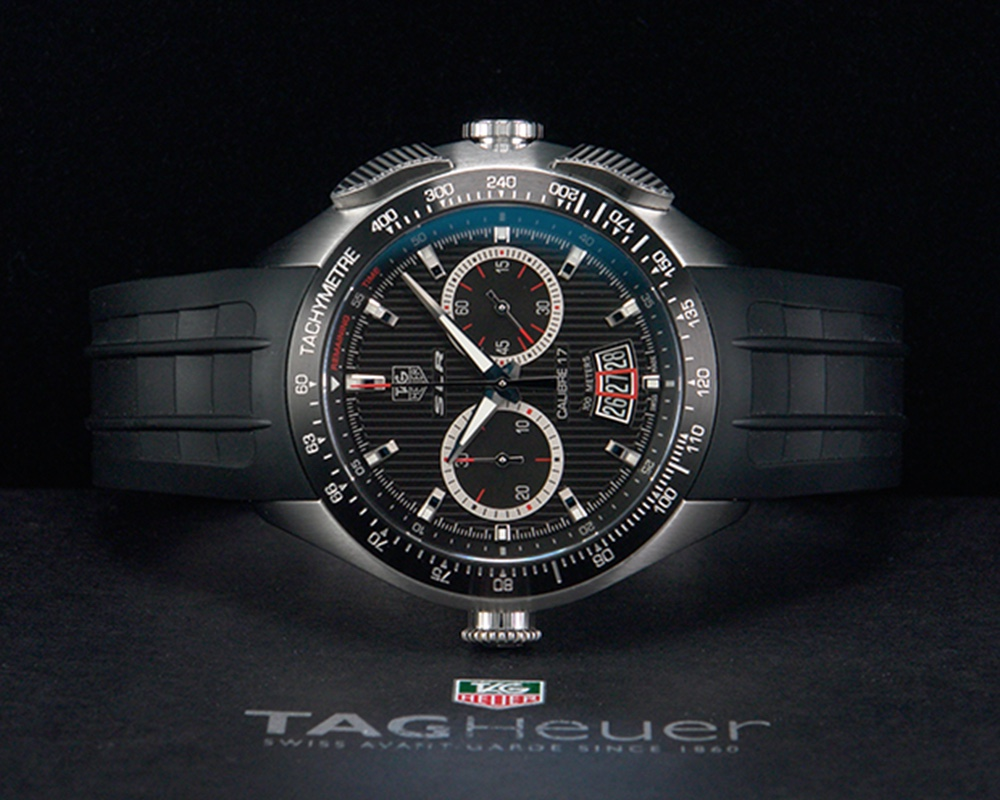 tag heuer slr for mercedes benz calibre 17 chronograph ref. Black Bedroom Furniture Sets. Home Design Ideas